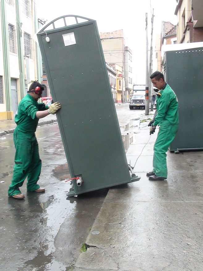 09 ba os duchas m viles kioscos garitas casetas shelters for Duchas grival bogota
