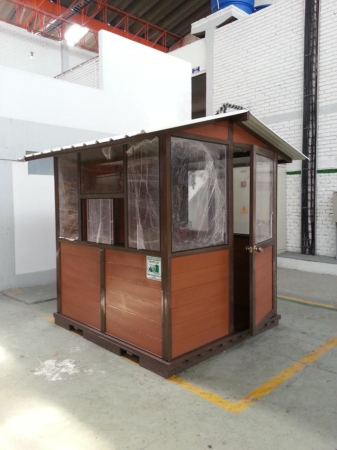 Ba os duchas m viles kioscos garitas casetas shelters - Como hacer caseta de madera ...