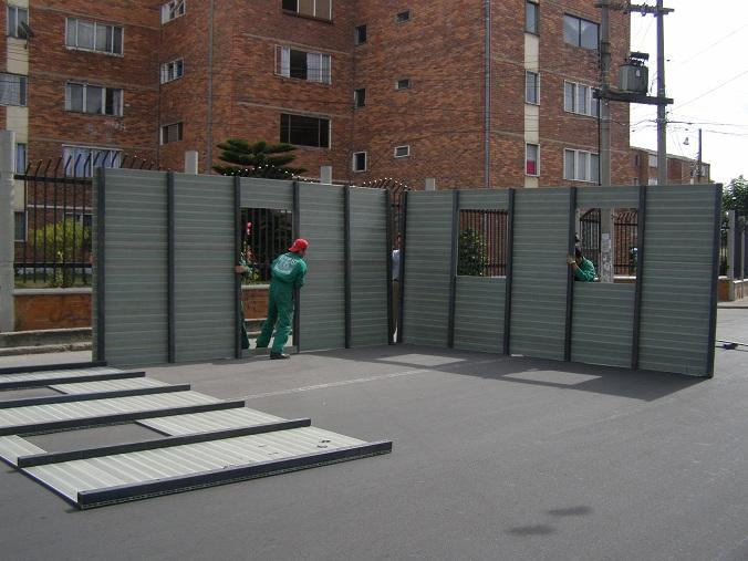 Ba os duchas m viles kioscos garitas casetas shelters - Modulos metalicos prefabricados ...