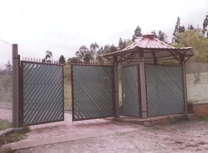 Diseno De Baños Para Fincas:portillos de entrada casetas 98 catalogo de cierres de finca