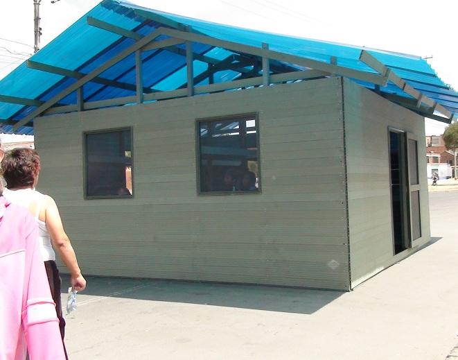 Ba os duchas m viles kioscos garitas casetas shelters for Kioscos prefabricados