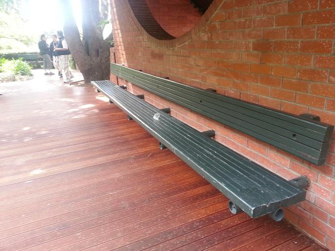 Puentes y senderos plasticos for Mobiliario jardin plastico