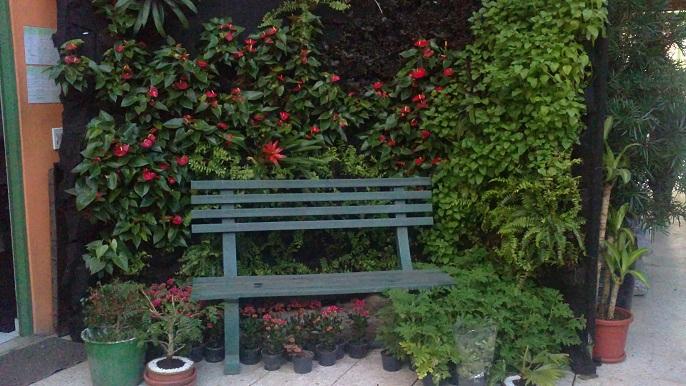 Puentes y senderos plasticos for Banquitas de madera para jardin