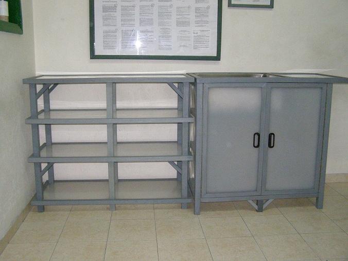 Materiales Para Tus Muebles De Cocina Of Muebles Cocina Metalicos ...