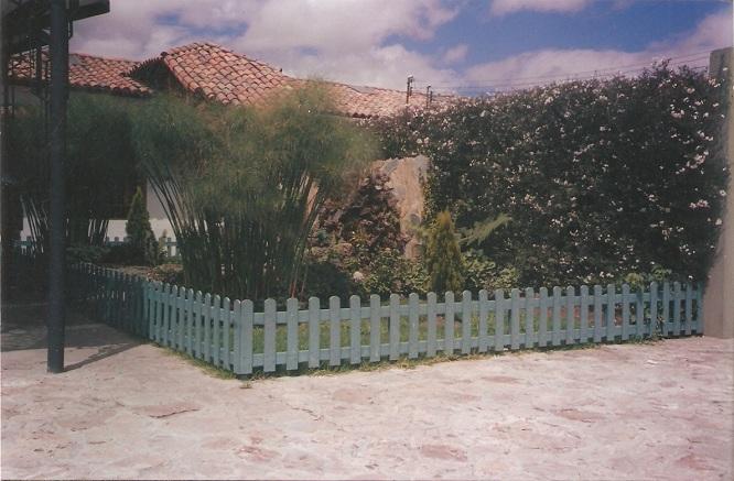 Verjas de madera para jardin valla de madera resultado - Verjas de madera ...