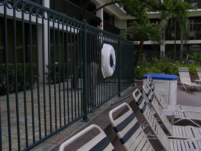 Barandales para bardas related keywords barandales para for Normas de piscina