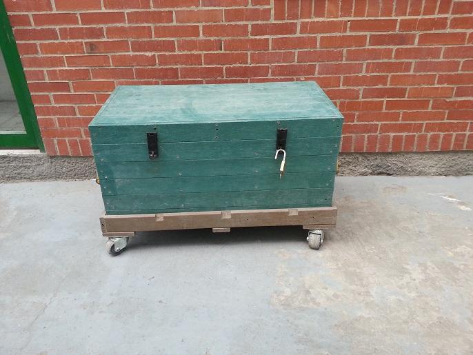 Contenedores cajones cajas plegables shelters refugios - Baul plastico jardin ...
