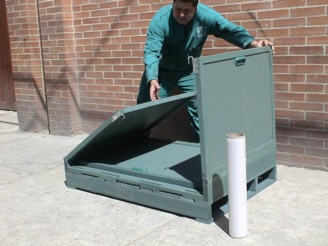 45 contenedores cajones cajas shelters refugios cajillas for Cajas de plastico plegables