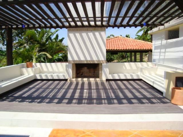 Suelo terraza encima baldosa simple baldosas hidraulicas - Patios exteriores ...