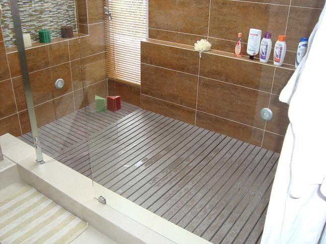 Piso Antiderrapante Para Baño Vitromex:piso para sauna turco yacusi jacuzzi vapor calor humedad de madera