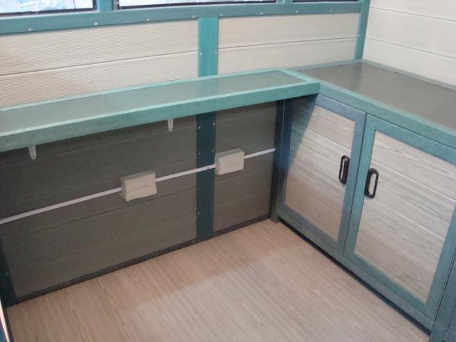 de plástico en lindos colores Maderplast, Lockers usados en