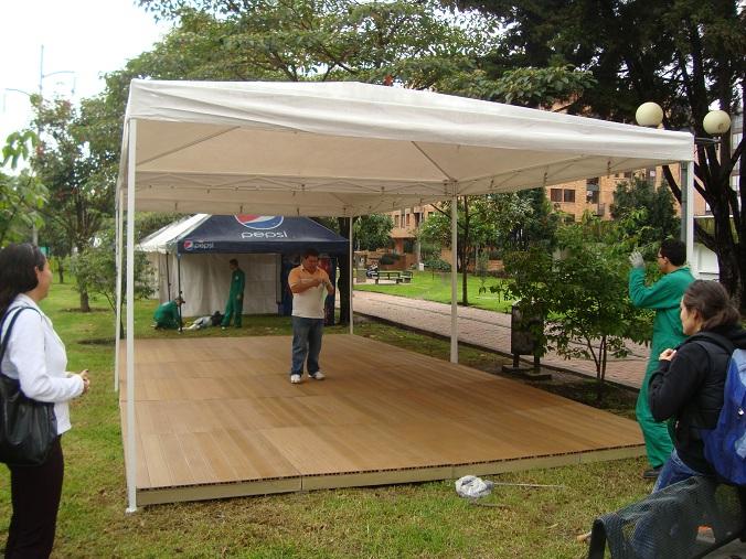 Pisos de madera empresa especialista colocacion for Carpas jardin baratas