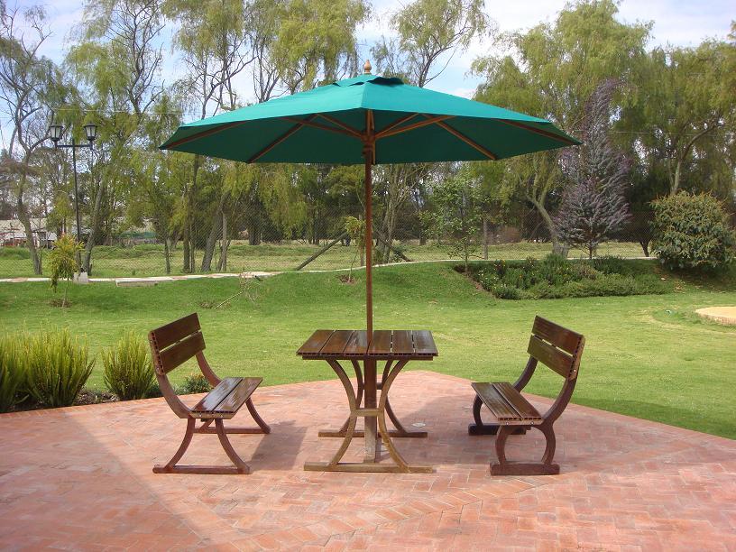 Sillas muebles mobiliario urbano maderplast 37 mesa mueble - Muebles de teca para jardin ...