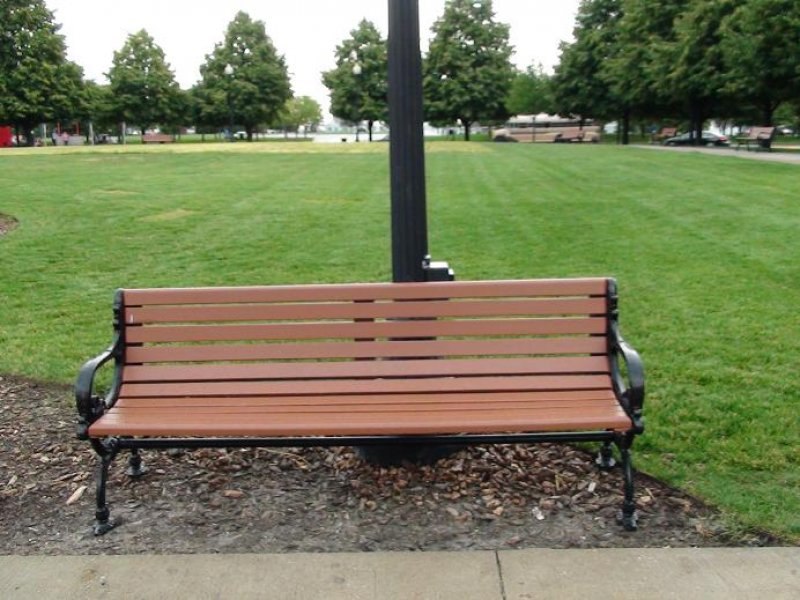 Muebles campestres para exteriores o interiores - Imagenes de bancos para sentarse ...