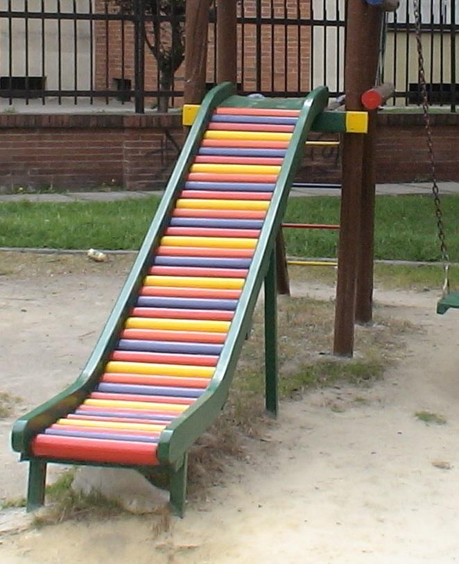 Parques juegos infantiles en plastico - Columpios y toboganes para jardin ...