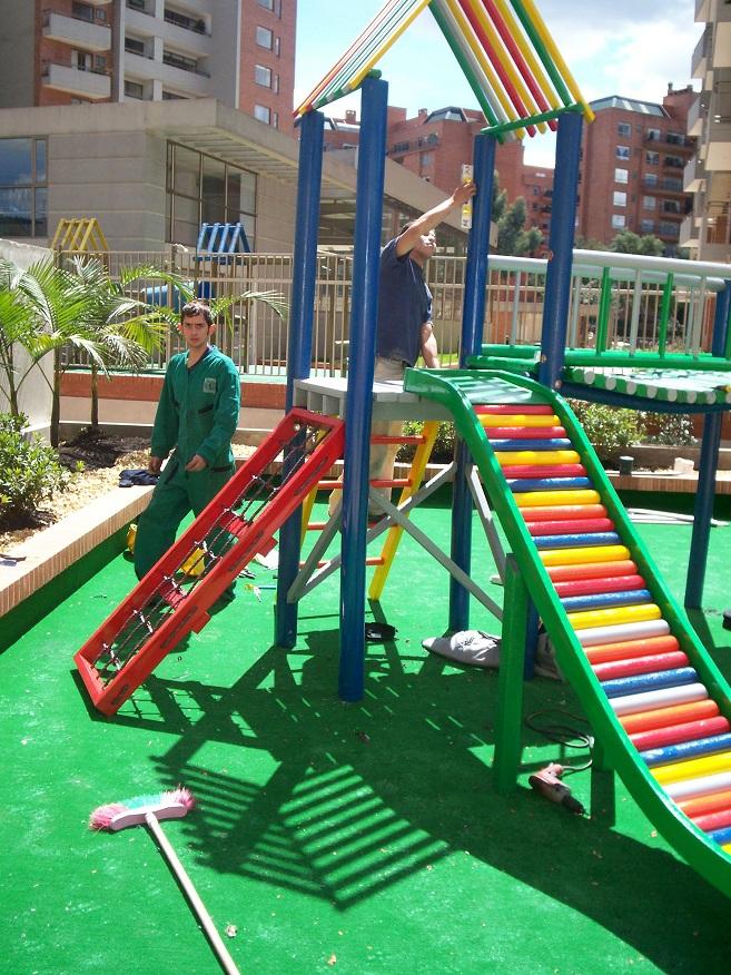 06 parques juegos infantiles en pl stico - Como hacer un parque infantil ...