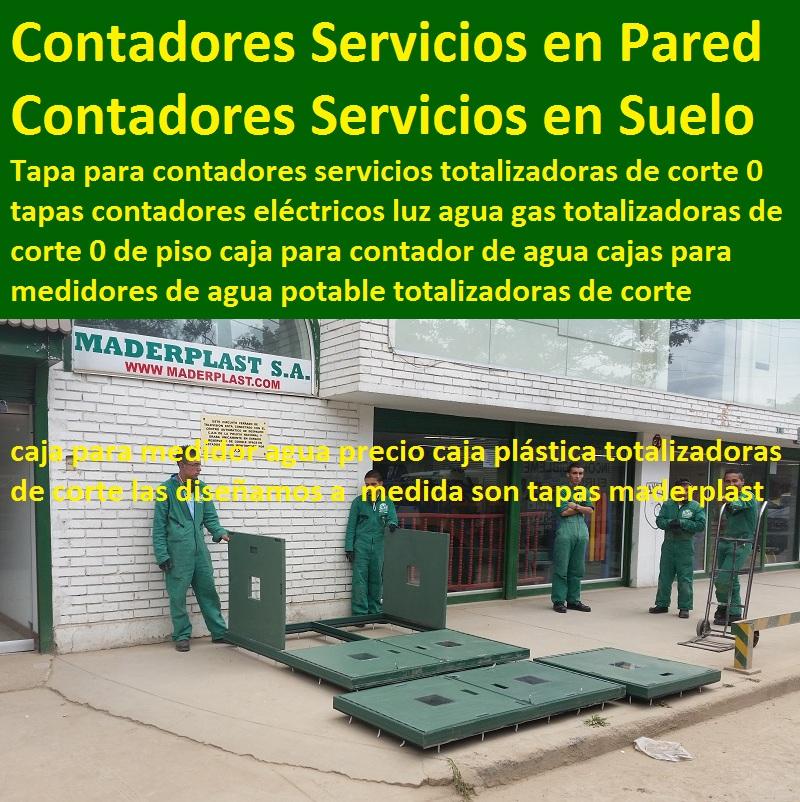Construcci n 0 de obras civiles y urban sticas 0 para las for Caja contador agua