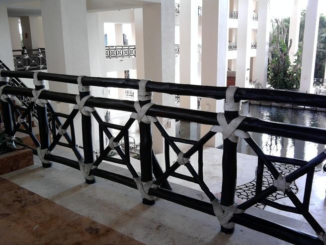 Carpinter a ebanister a con maderas pl sticas wpc for Barandas para terrazas modernas