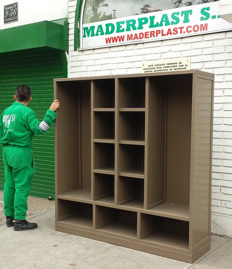 plásticos estantes para repuestos anaquel escaparate organizador de
