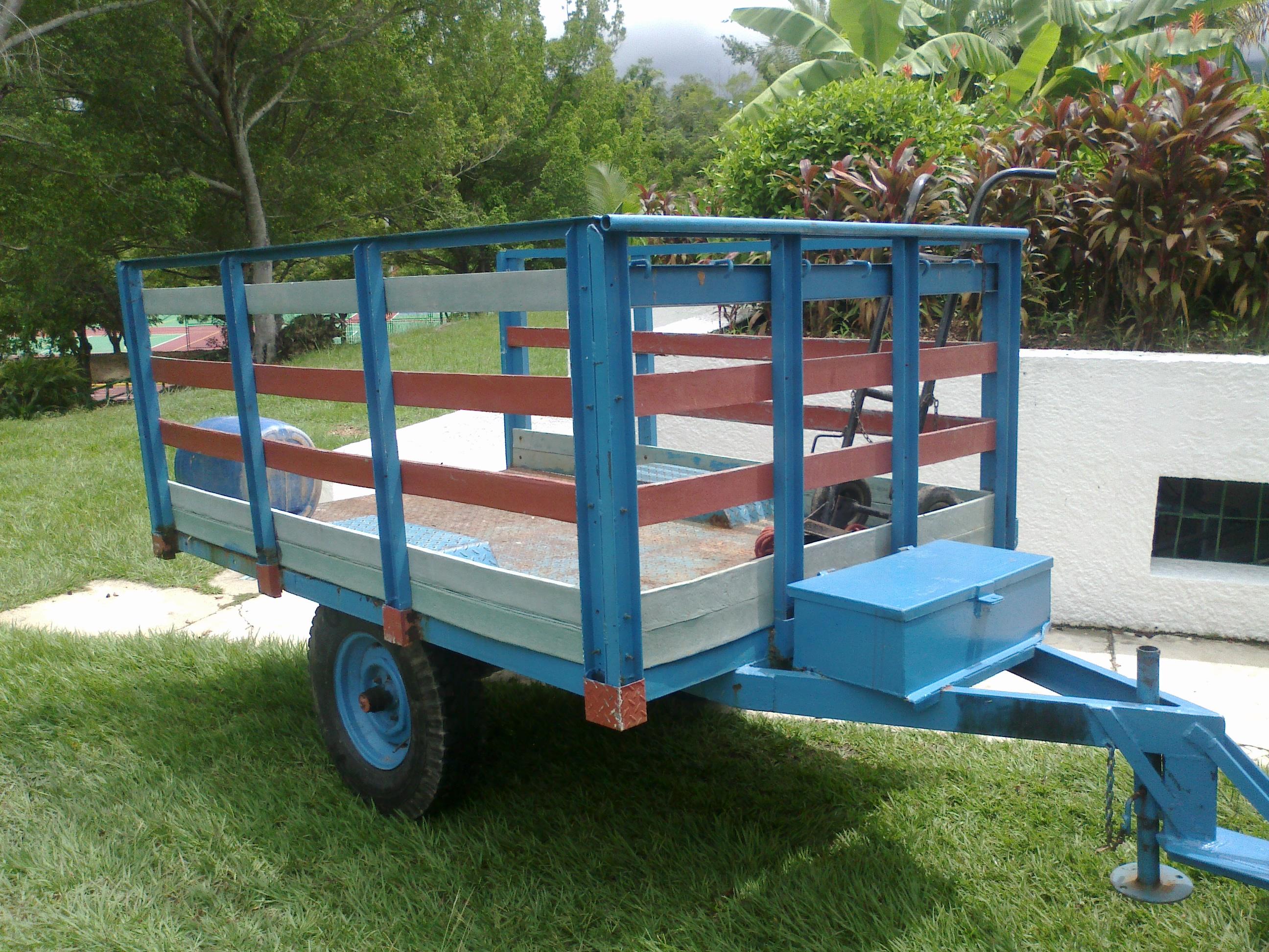 Carretillas industriales carretas remolques carros 2 4 6 - Carretillas de transporte ...