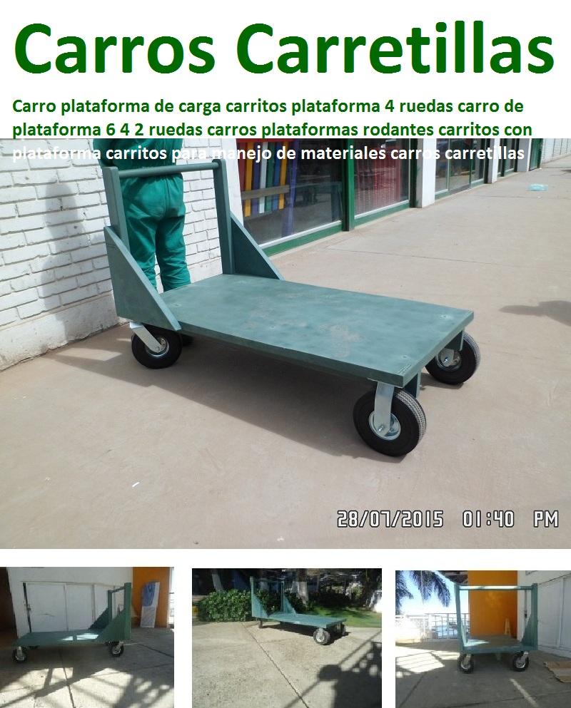 22 Carretillas Industriales Carretas Remolques Carros 2 4 6 Ruedas  # Muebles Para Vehiculos Industriales