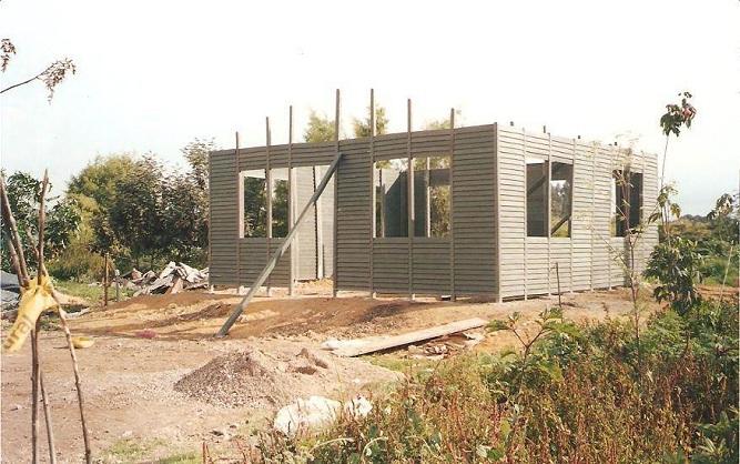 Casas campamentos prefabricados casetas m viles quioscos - Como hacer una casa de madera para ninos ...