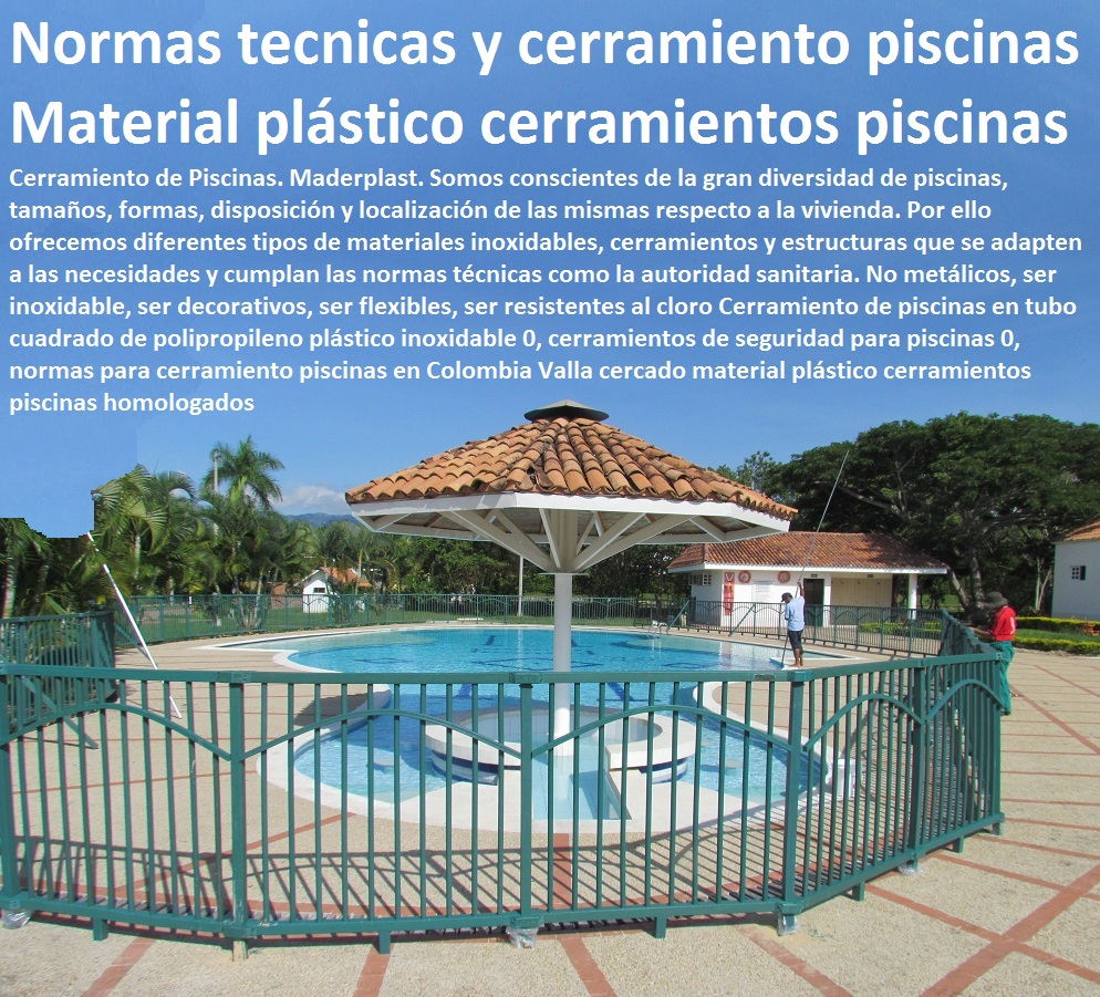 10 cercas cercados perimetrales vallas cerramiento for Cerramiento para piscinas colombia