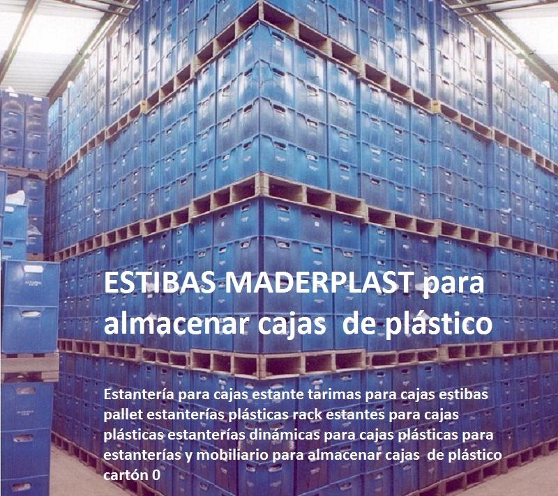 dinámicas para cajas plásticas para estanterías y mobiliario para