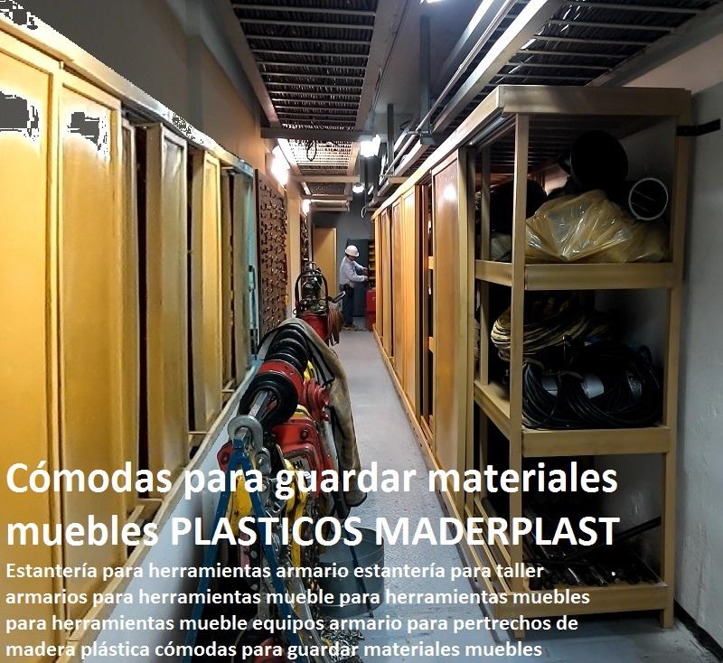 Armario De Madera Para Herramientas : Estanter?as racks gabinetes pl?sticos armarios muebles
