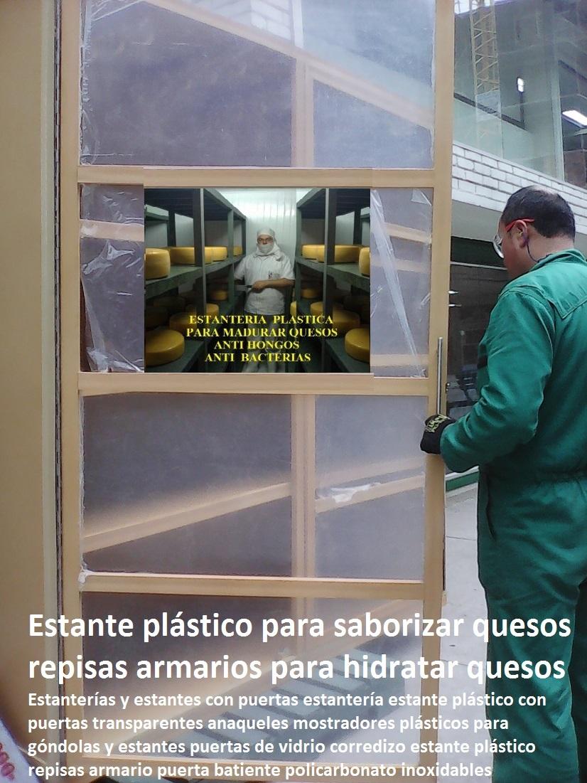estanteras y estantes con puertas estantera estante plstico con puertas anaqueles mostradores plsticos para gndolas