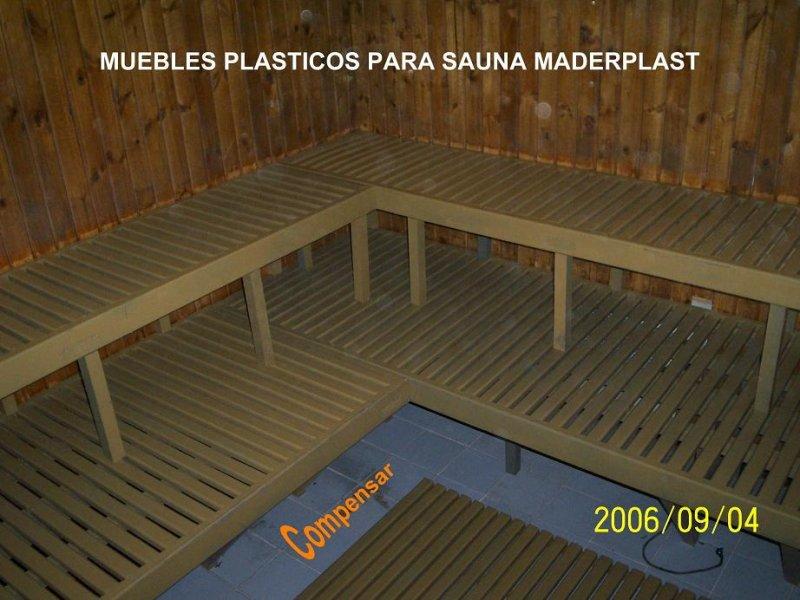 38 madera pl stica maderplast perfiles maderas inmunizadas - Construir una sauna ...