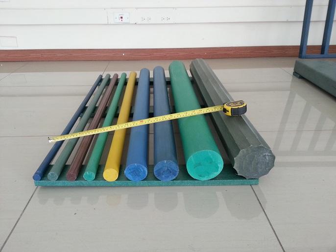 perfiles de madera plstica redonda fabricante de madera plstica cilindrica macisza piezas de madera plstica bigas