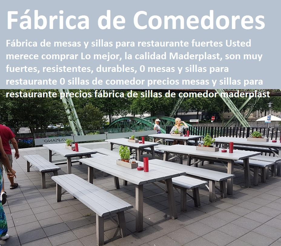 17 mesa y sillas mobiliario para exteriores pl sticos for Fabrica de mesas y sillas de comedor
