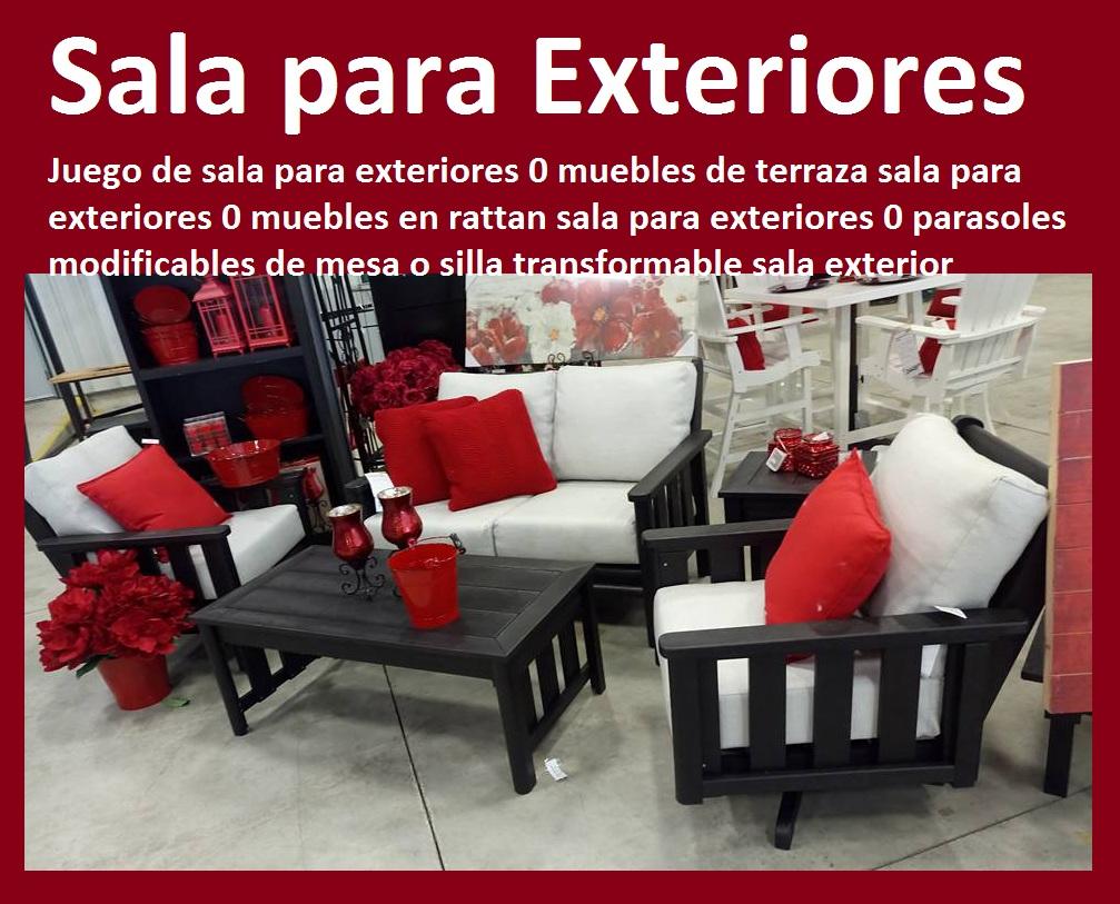 17 mesa y sillas mobiliario para exteriores pl sticos for Mesas y sillas para terraza