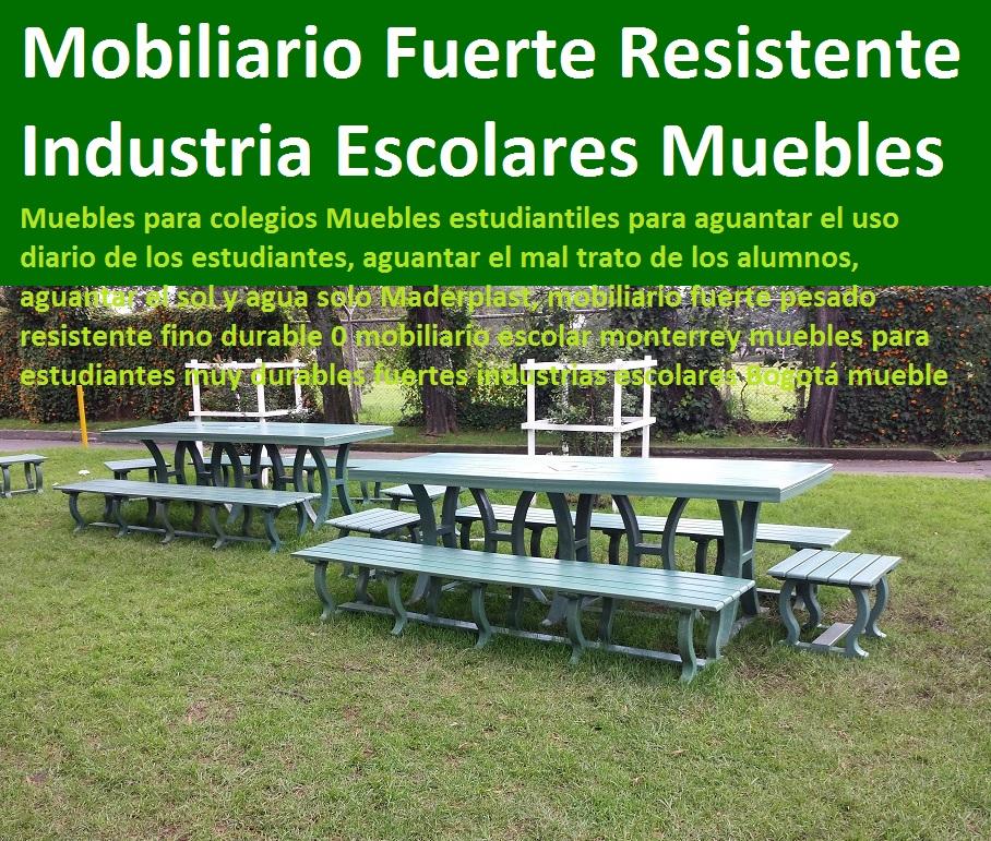 17 mesa y sillas mobiliario para exteriores pl sticos for Mobiliario para estudiantes