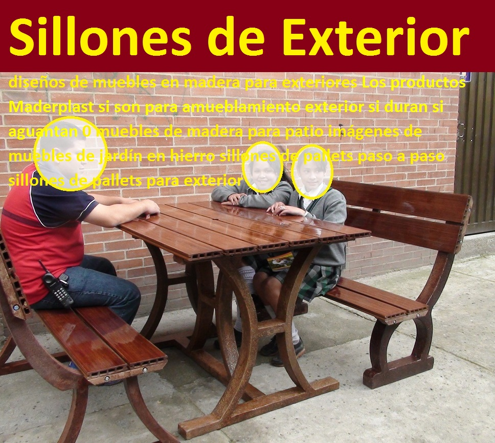 17 mesa y sillas para exteriores pl sticos con parasoles for Sillones para patio