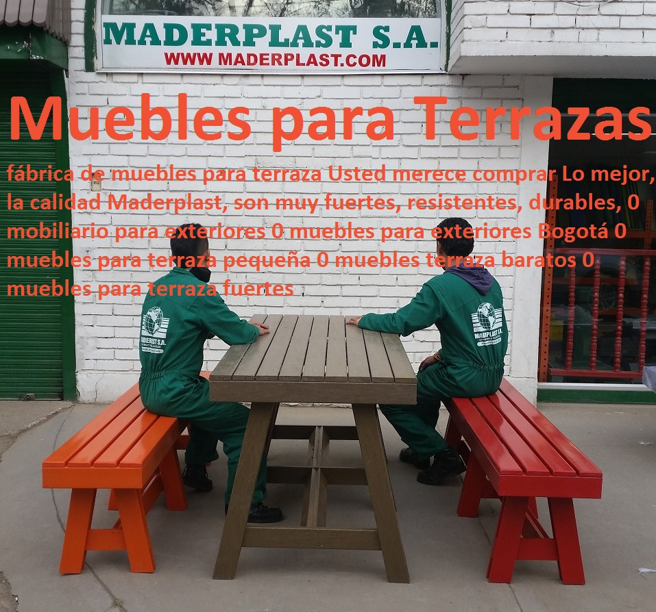 17 Mesa Y Sillas Mobiliario Para Exteriores Pl Sticos Juegos De  # Muebles Oeste Alcantarilla