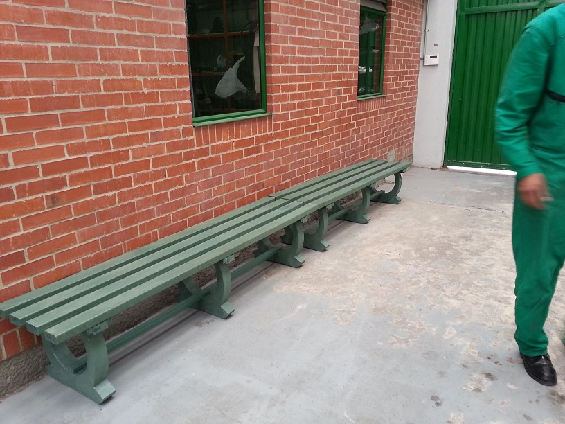 30 muebles campestres exteriores interiores mobiliarios for Asientos terraza