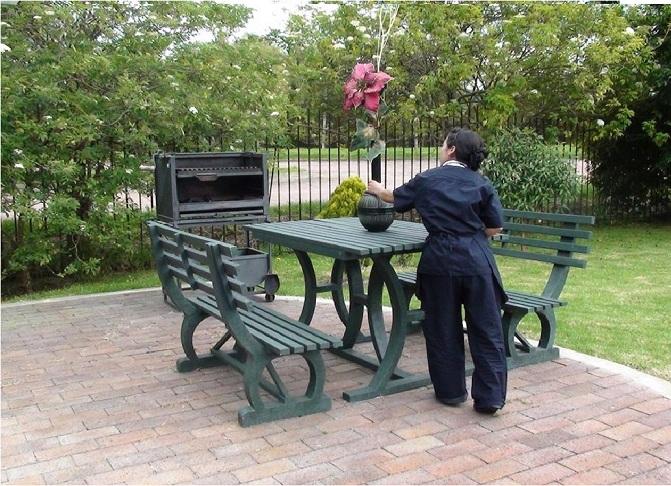 30 muebles campestres exteriores interiores mobiliarios - Mobiliario exterior jardin ...