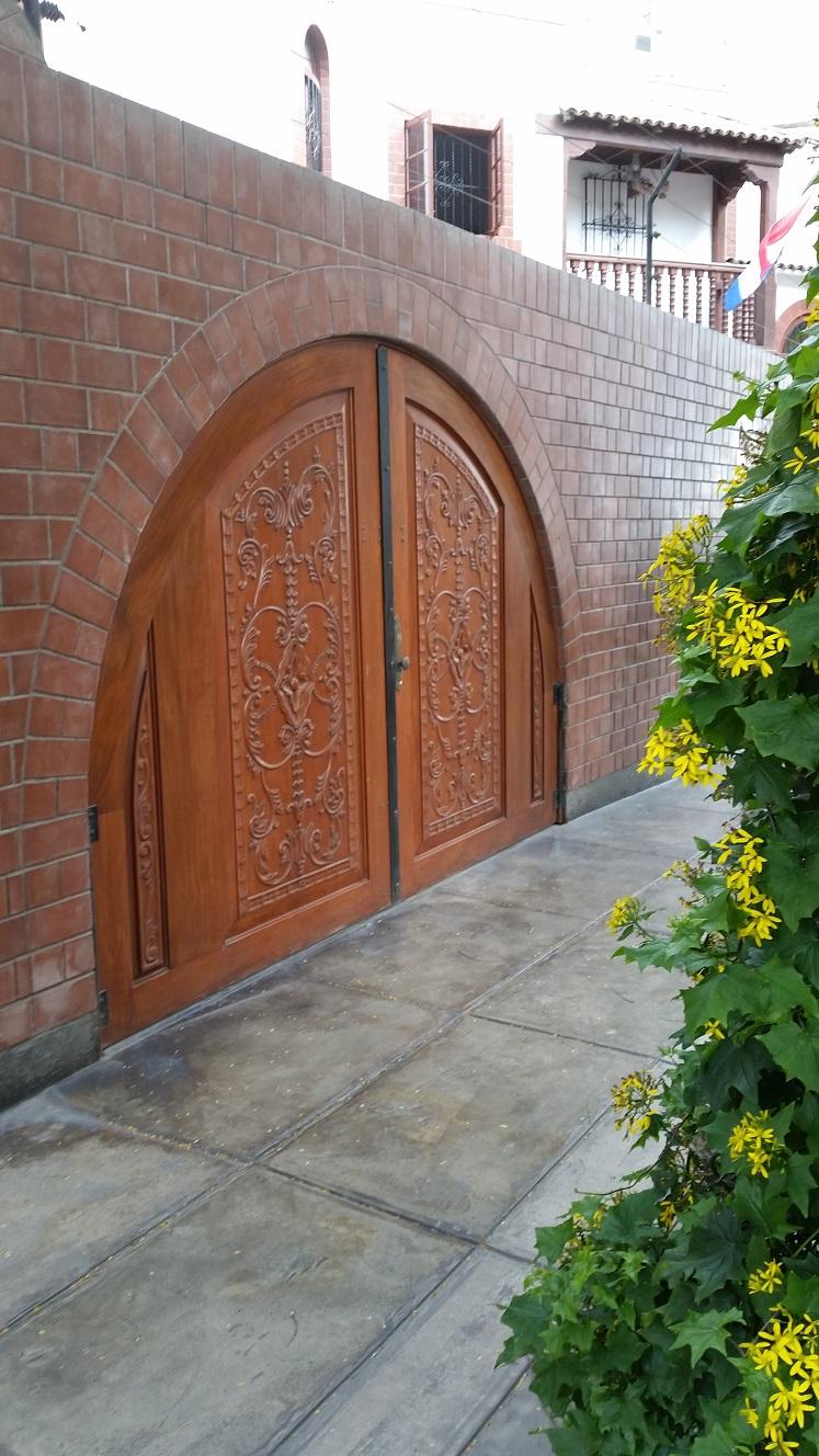 30 muebles campestres exteriores interiores mobiliarios for Diseno puerta