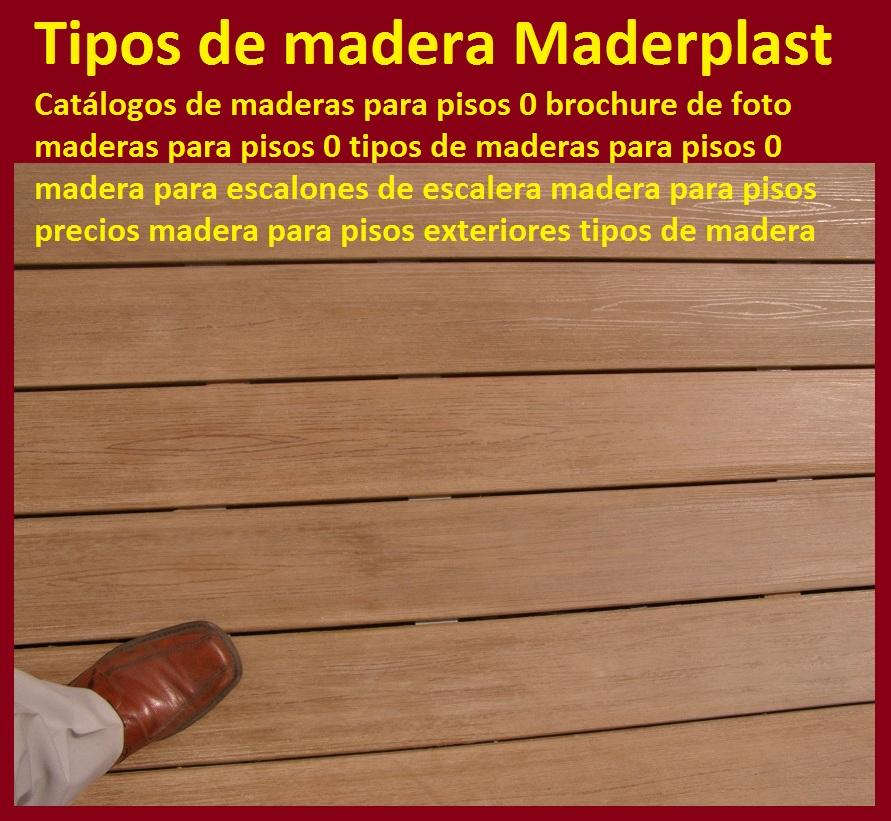catlogos de maderas para pisos brochure de maderas para pisos tipos de maderas para