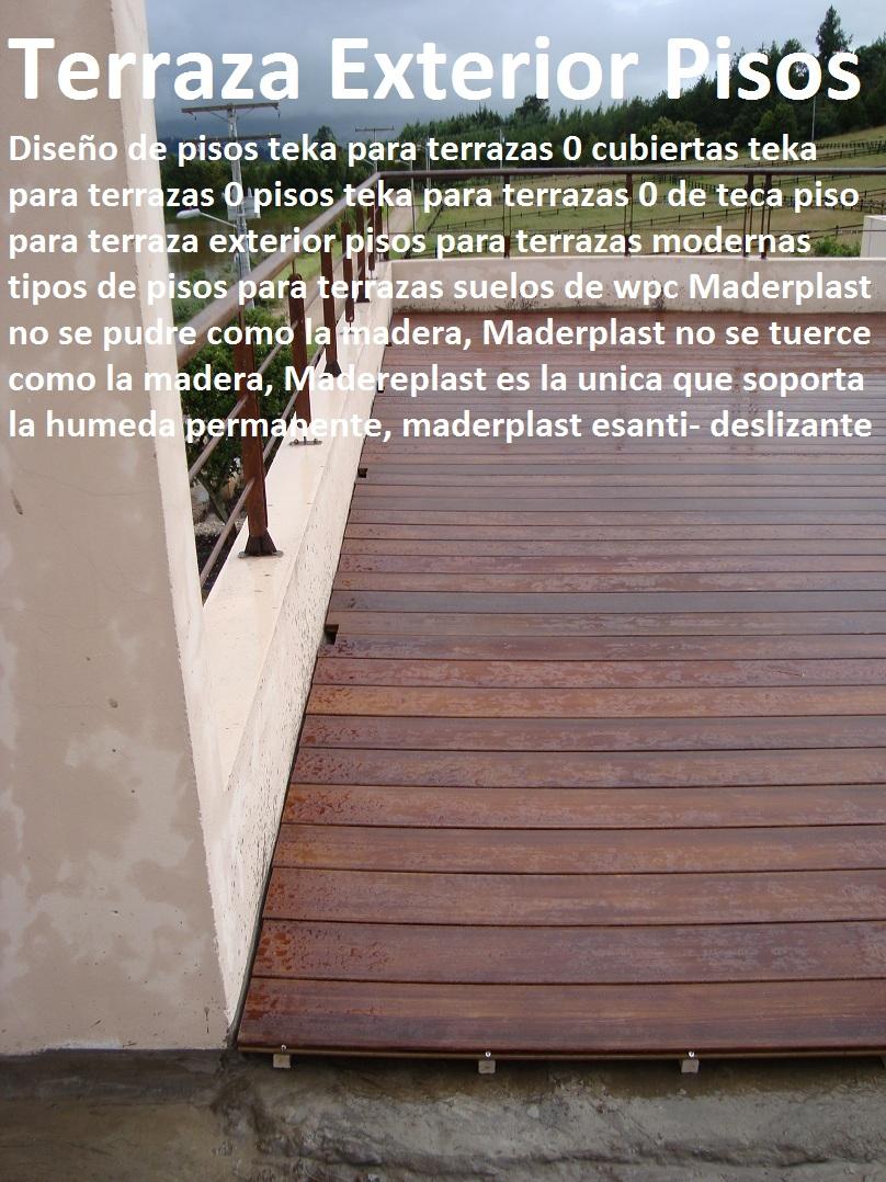 20 Pisos decorativos Madera plástica Finas maderas de exteriores 0 0 ...