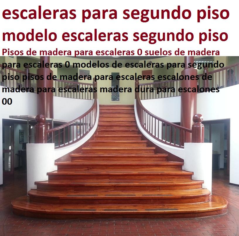 - Modelos de escaleras de madera ...