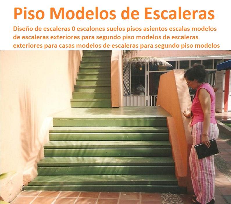 Medidas de escaleras para casas puedes espacio sobre las for Modelos de escaleras exteriores