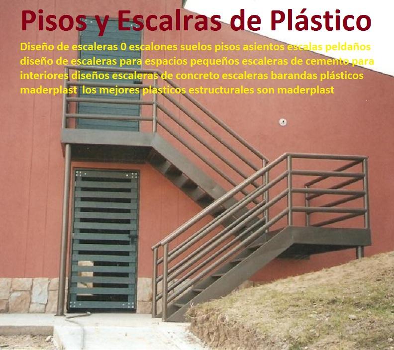 21 pisos industriales pl sticos suelos tr fico pesado for Escaleras para tres pisos