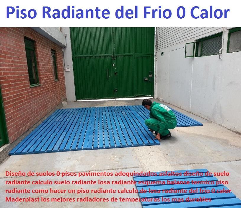 Pavimento para suelo radiante awesome la aerotermia al trabajar a baja temperatura como el - Pavimento para suelo radiante ...