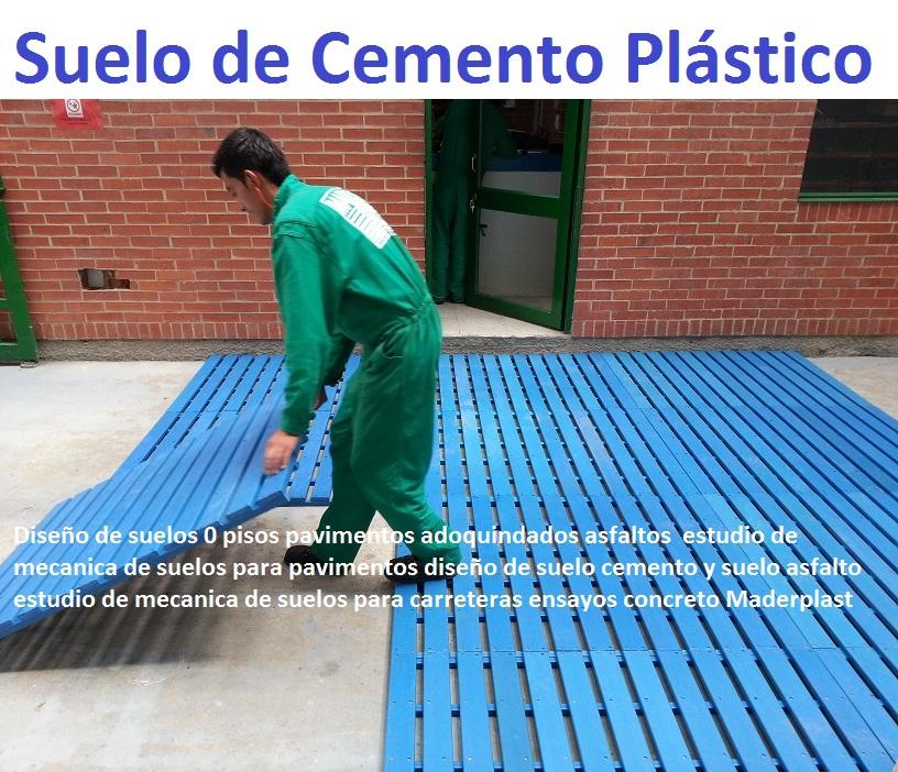 21 pisos industriales pl sticos suelos tr fico pesado - Como hacer cemento para suelo ...