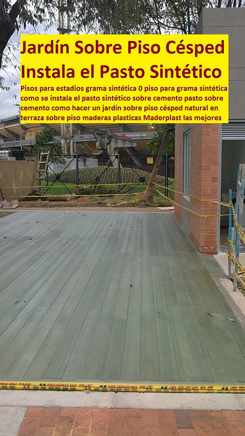 21 pisos industriales pl sticos suelos tr fico pesado for Tipos de cesped natural para jardin