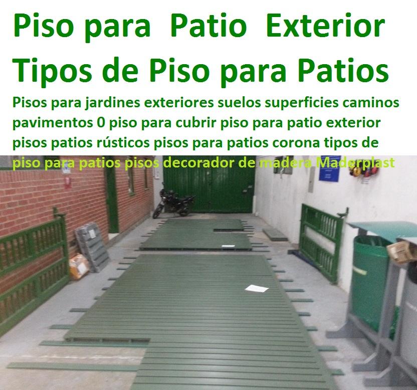 pisos plsticos suelos trfico pesado epxicos with suelos para patios exteriores