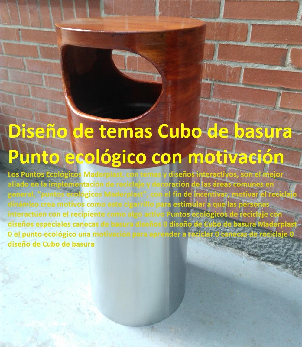 Canecas basureros plásticos Maderplast puntos ecologicos, centros de acopio, recipientes para reciclar, canecas para reciclar por colores, Contenedores de basura industriales Maderplast, canecas de basura industriales Papeleras de reciclaje nuevos modelos 0 diseño de contenedores de reciclaje cilíndricos 0 caneca de oficina recipiente para ascensor contenedor de entradas 0 cubos reciclaje Maderplast papeleras de reciclaje colores diseños caneca